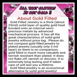 Why buy Gold filled?